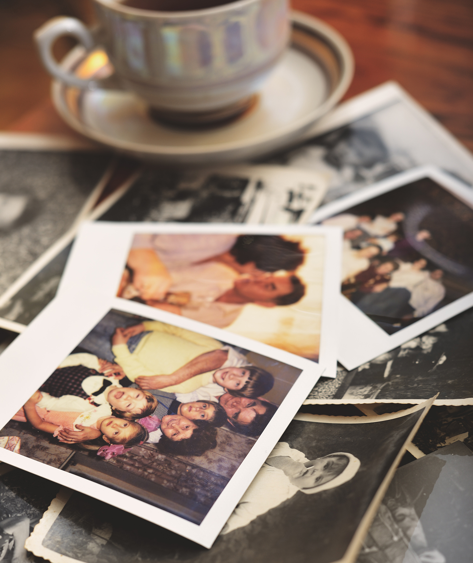 Tea and old photos