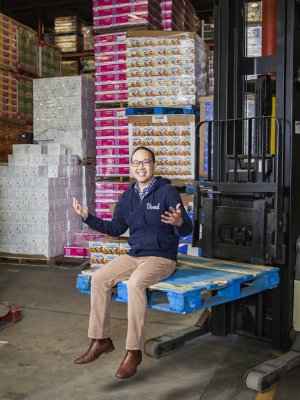 Chieh Huang, the CEO of Boxed