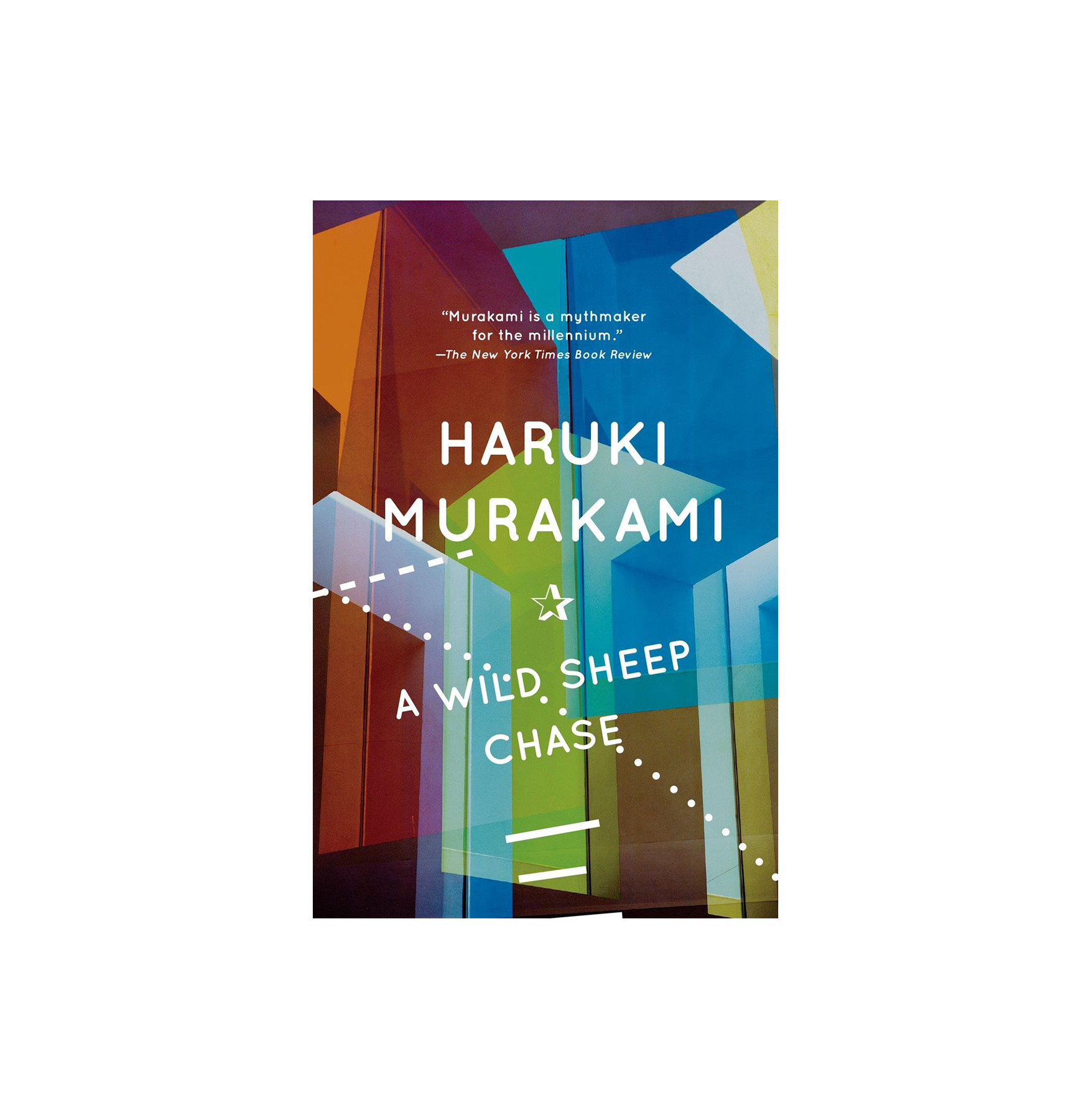 A Wild Sheep Chase, by Haruki Murakami