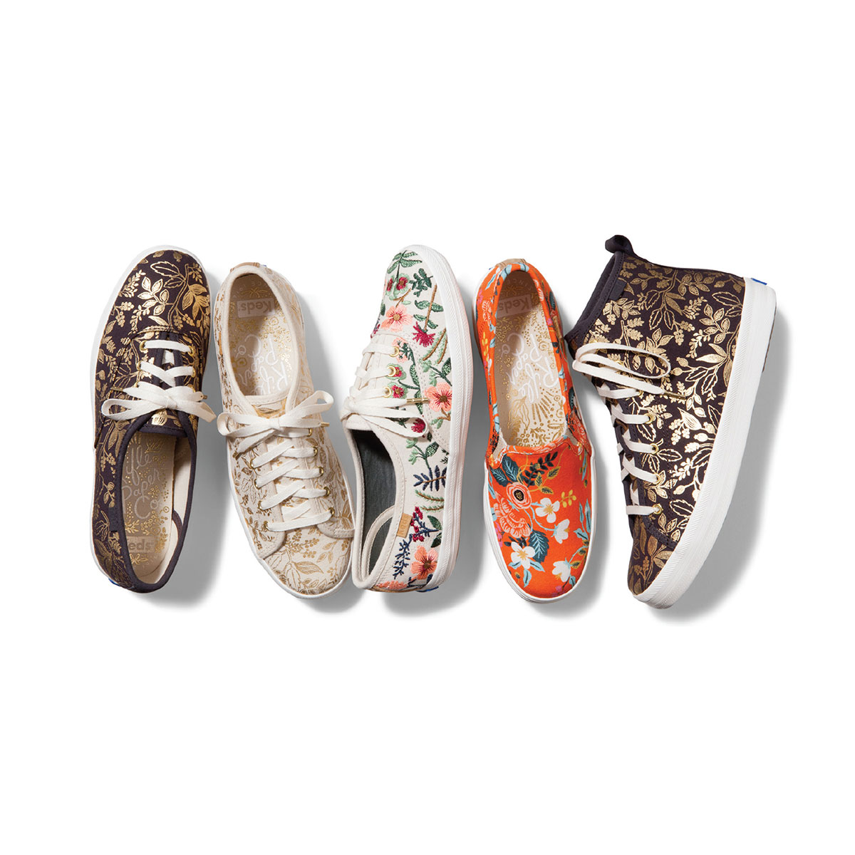 Keds and Rifle Paper Co Fall Collection