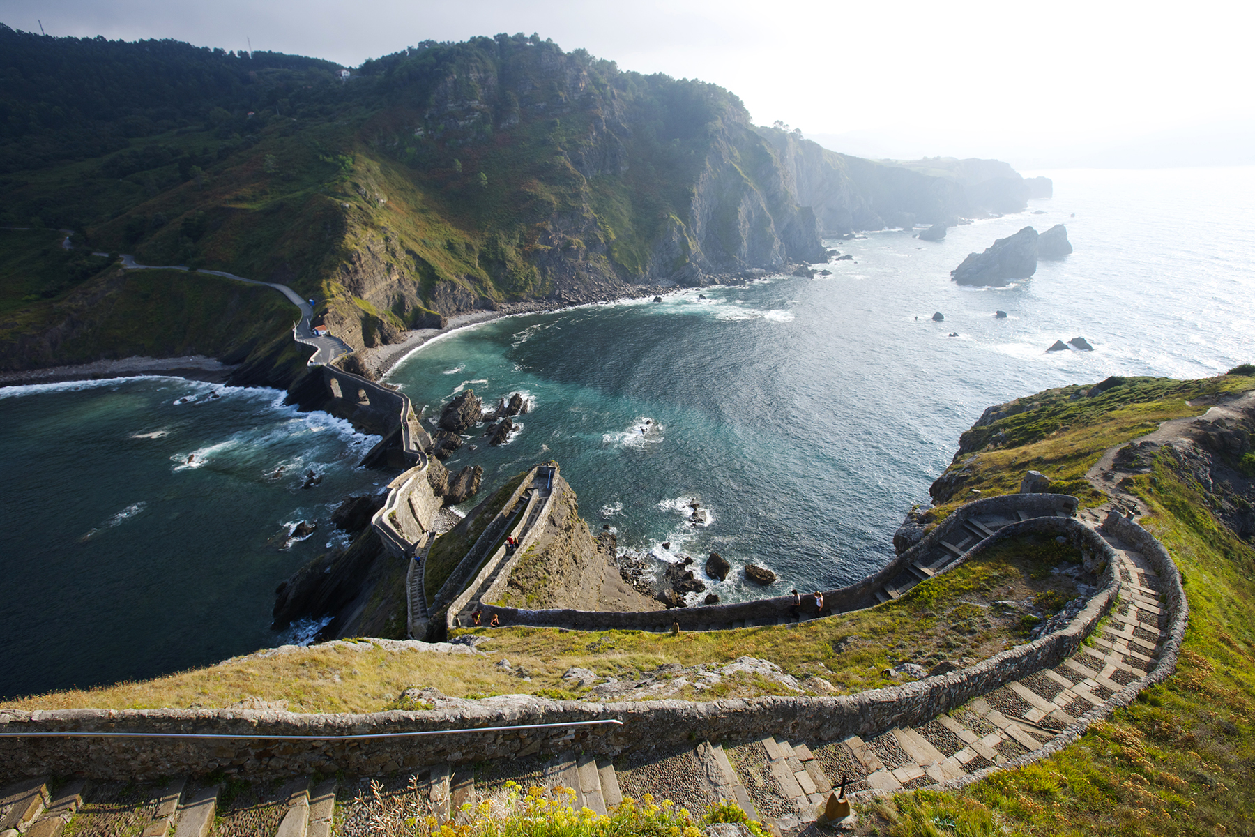 Downhill Strand, Northern Ireland; Itzurun Beach in Spain; Spain's San Juan de Gaztelugatxe in Basque Country