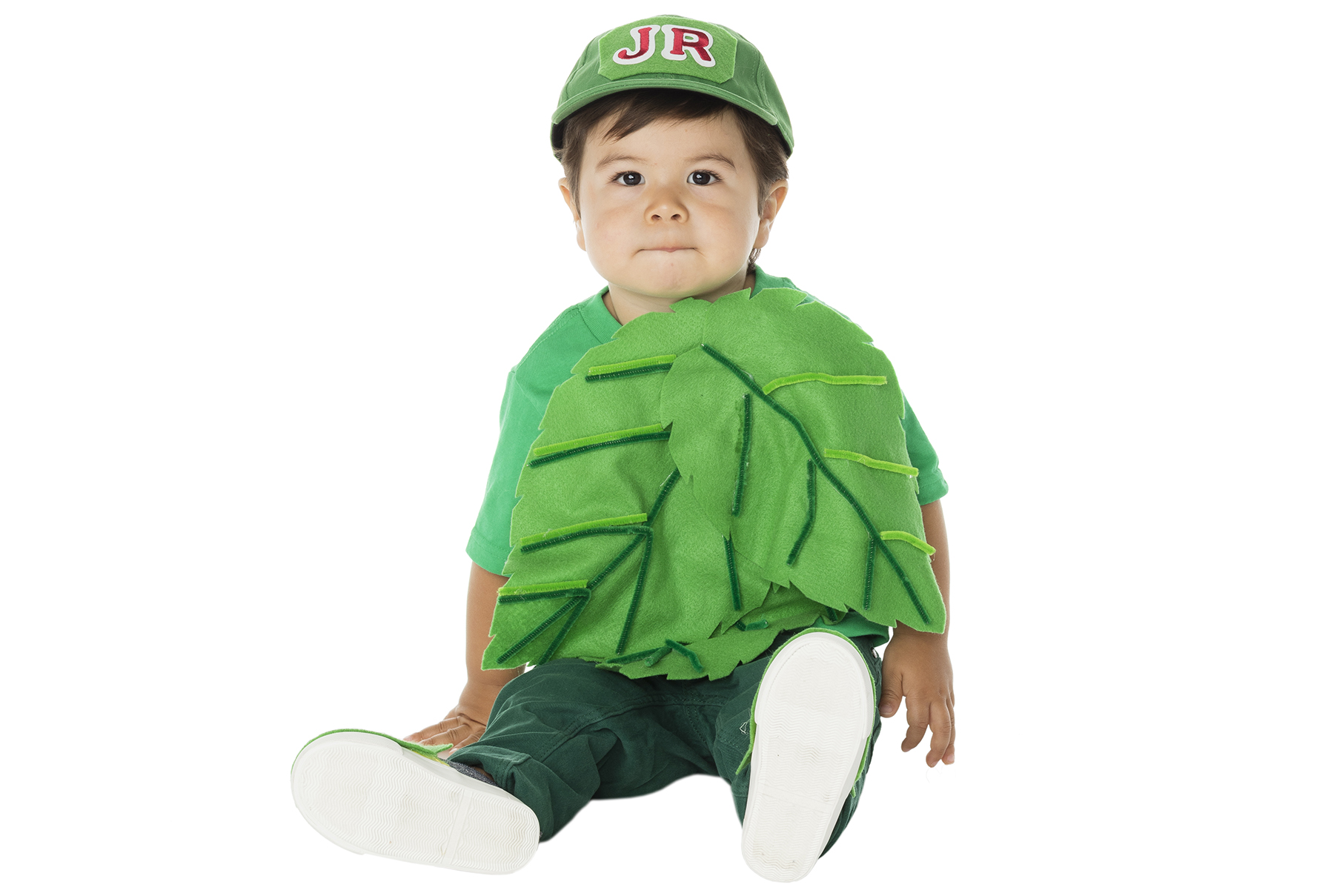 DIY Halloween costumes - Junior Mint Costume