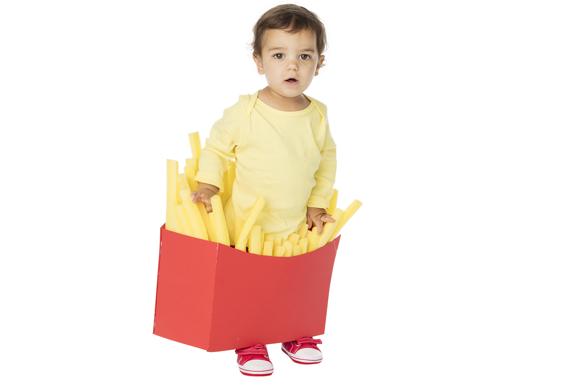 DIY Halloween costumes - Small Fry/French Friest Costume