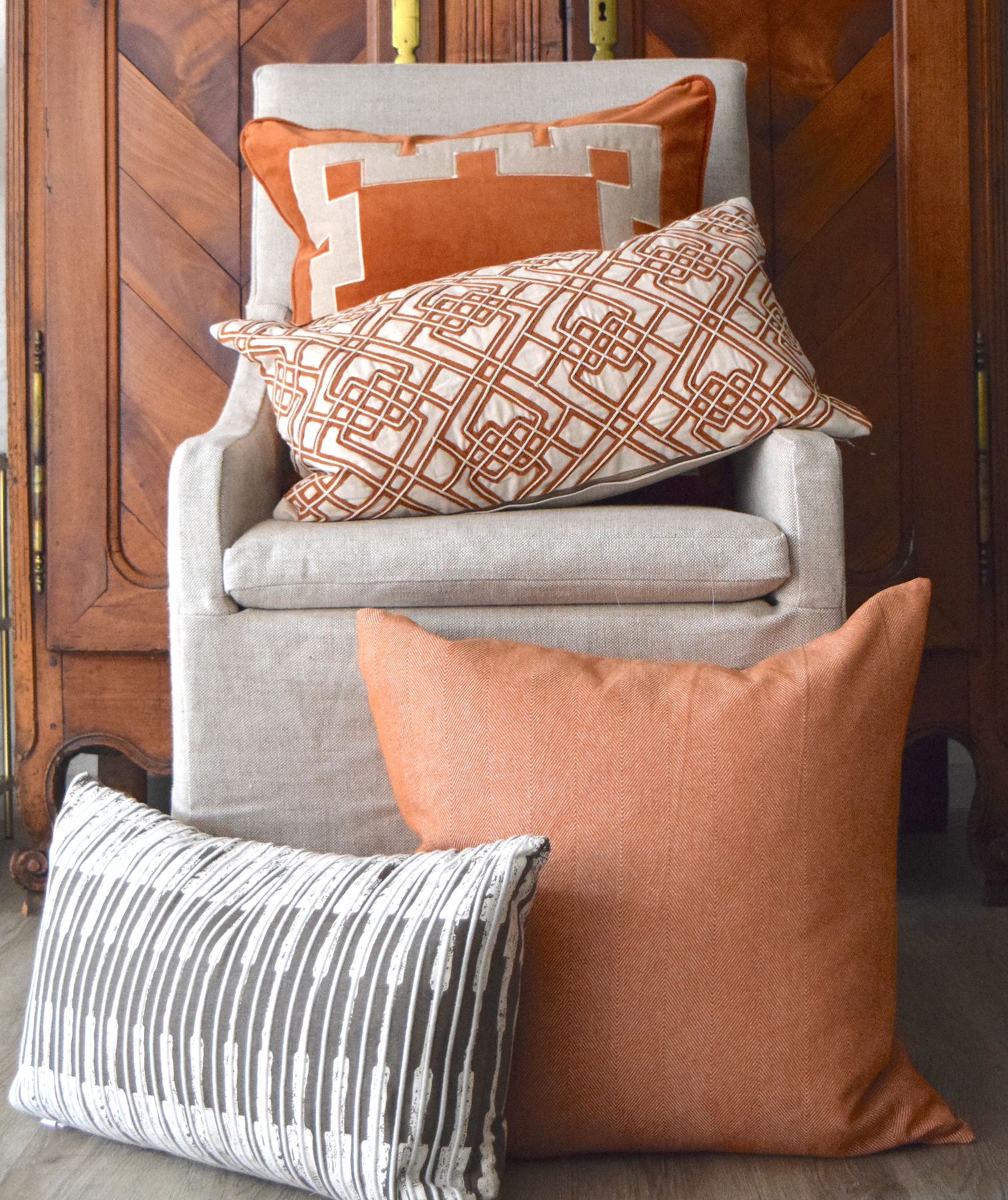 Add in Throw Pillows