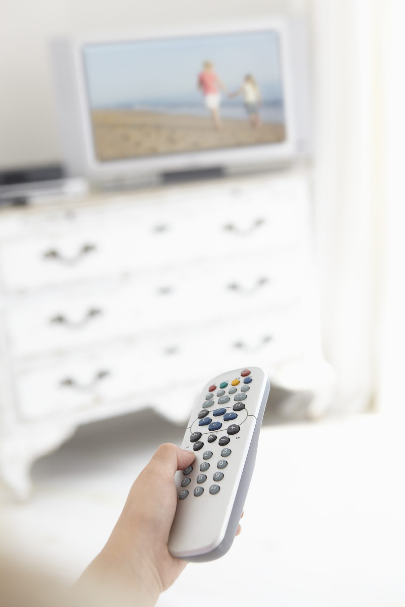 Television in child's bedroom
