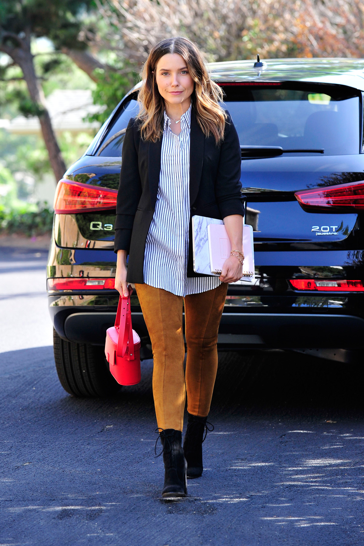 Sophia Bush wearing Old Navy pants