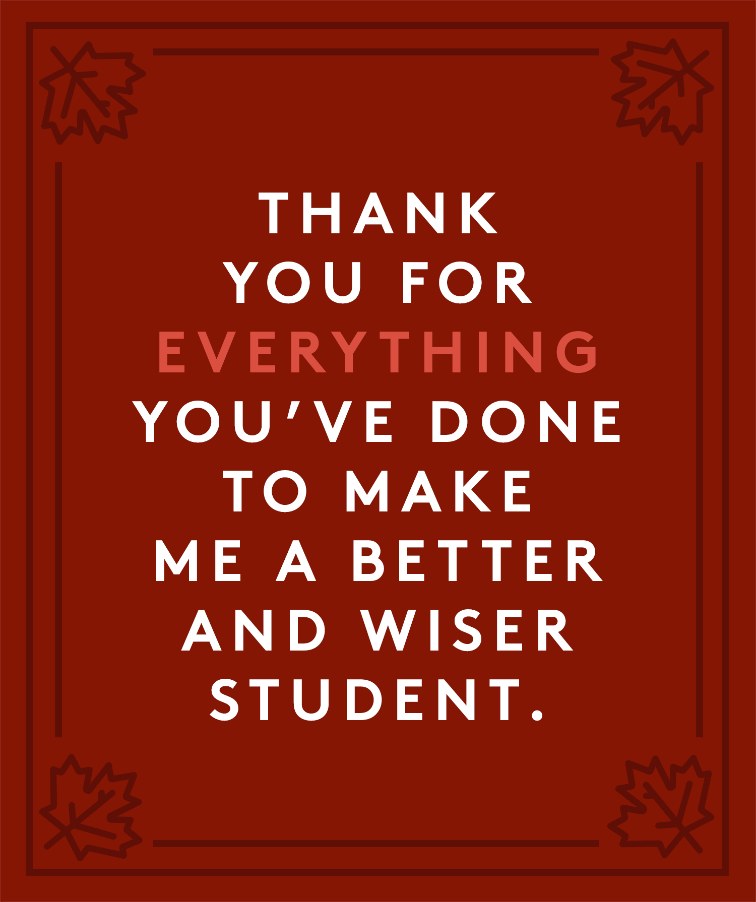 Thanksgiving Wishes To Teacher