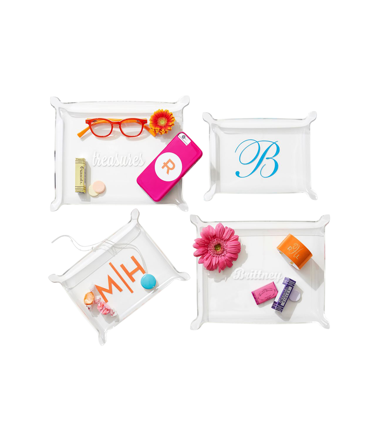 Christmas Gifts for Mom: Mark and Graham acrylic catchall with monogram