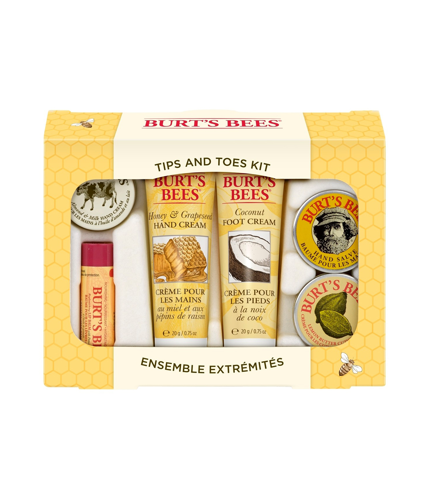 Burt's Bees Tips and Toes Gift Set