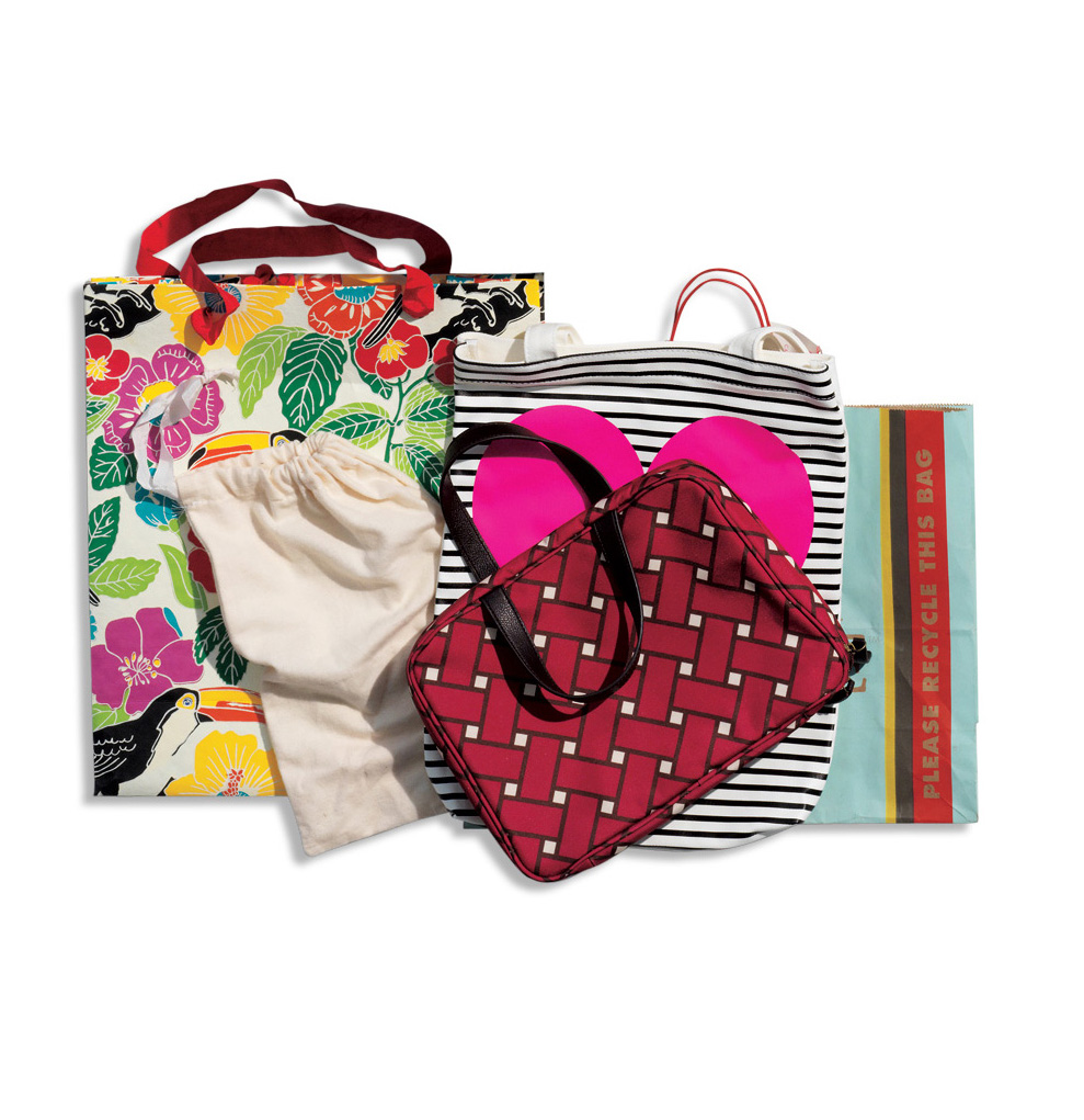 Assortment of Colorful Handbags