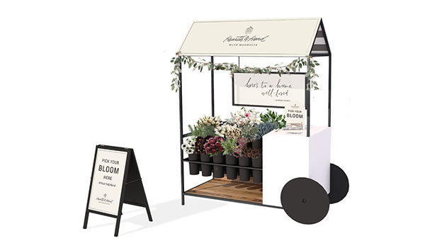 hearth and hand flower cart