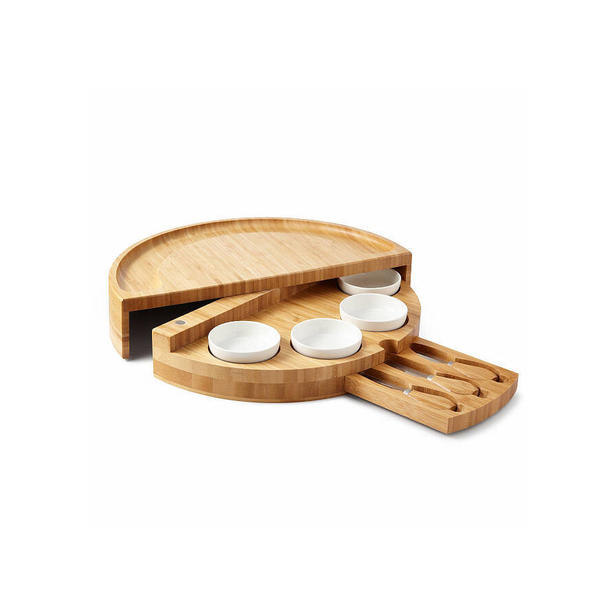 compact wood cheese board