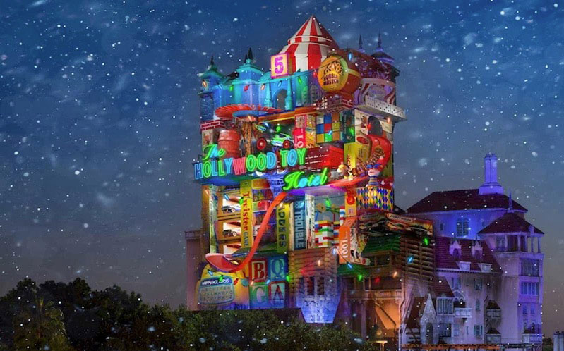 Tower of Terror Christmas