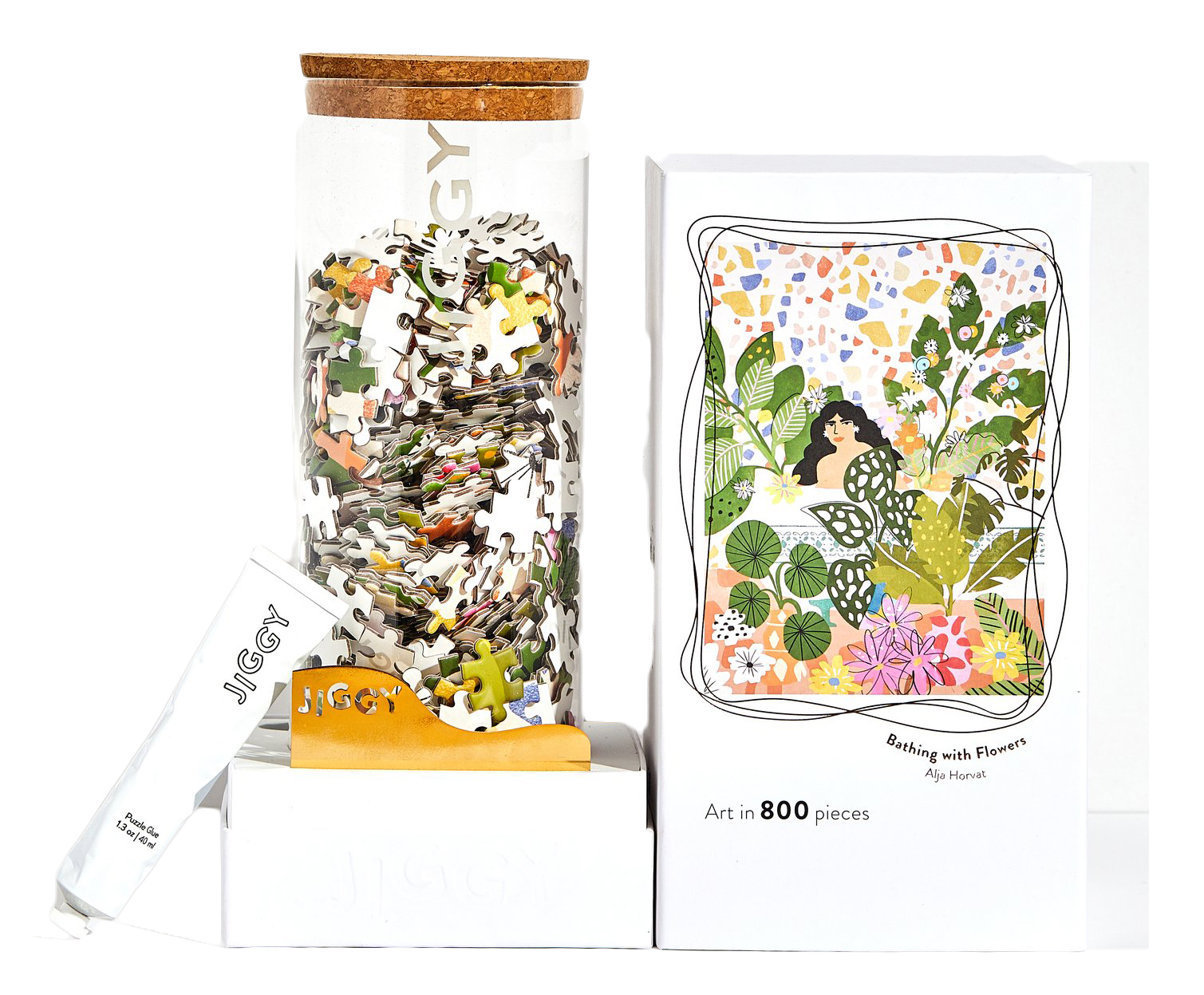 Best Christmas gifts 2019 - Jiggy Puzzles Bathing with Flowers