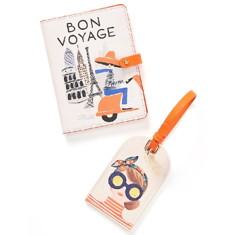 Best Christmas gifts 2019 - Rifle Paper Co. for Anthropologie Bon Voyage Passport Holder