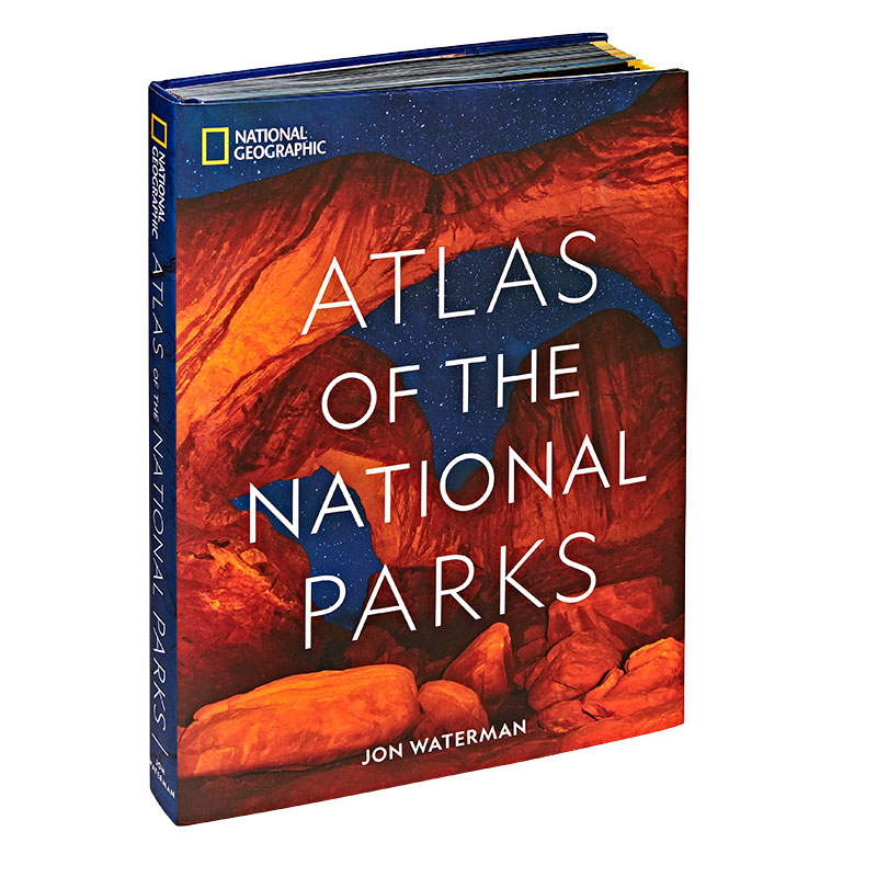 Gifts for Dad: National Geographic Atlas of the National Parks