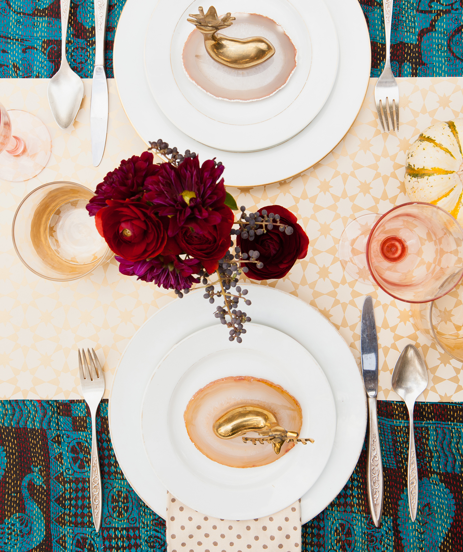Mix-and-Match Table Decor
