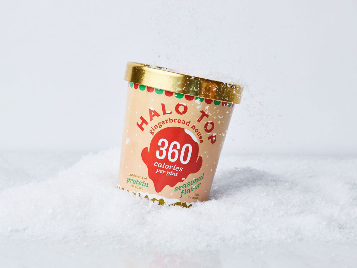 Gingerbread Halo Top