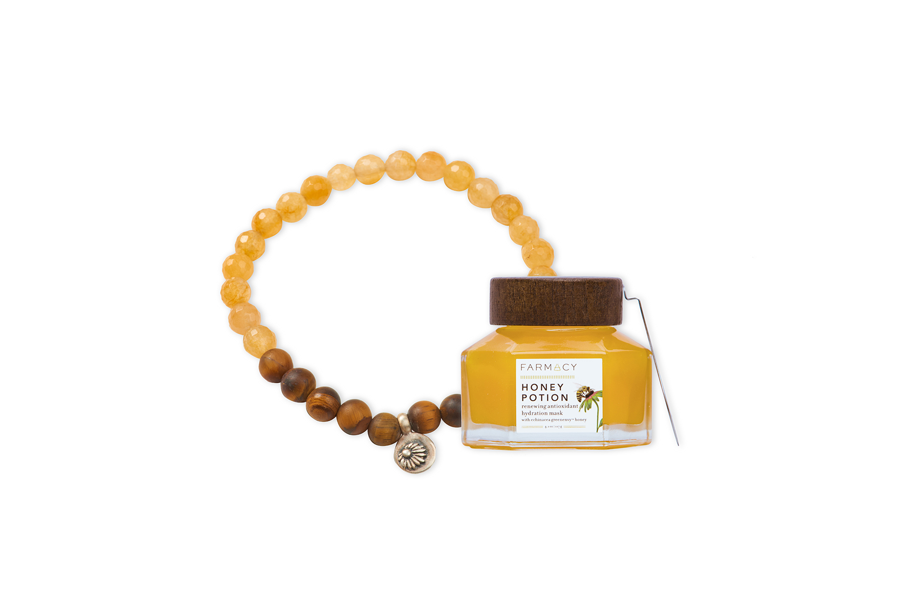 Farmacy Bee Well Mask and Meditation Gift Set