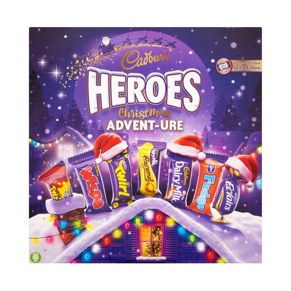 Best Advent Calendars 2019 - Chocolate Advent Calendar: Cadbury Dairy Milk Heroes Advent Calendar