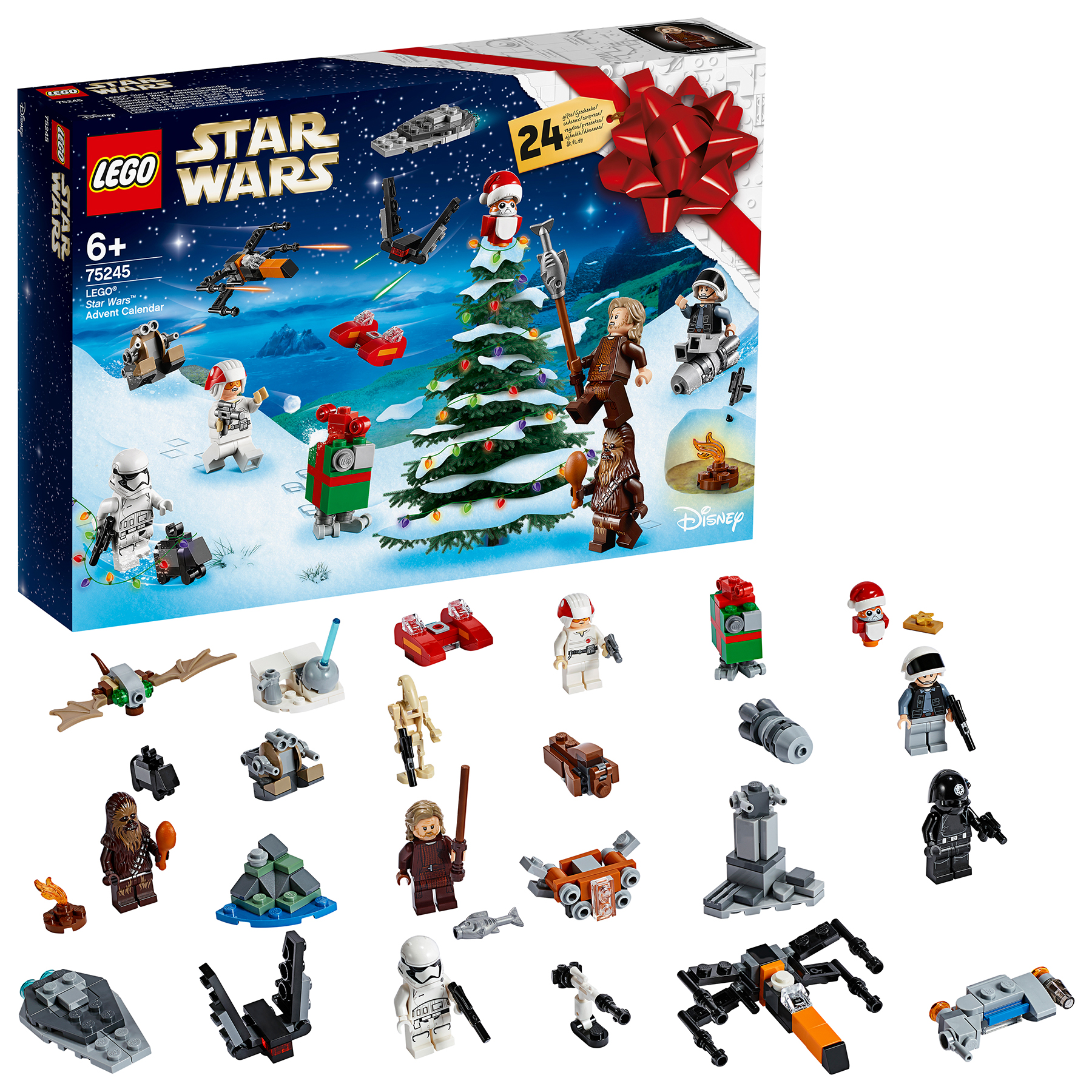 Best Advent Calendars 2019 - Star Wars Advent Calendar: LEGO Star Wars Advent Calendar