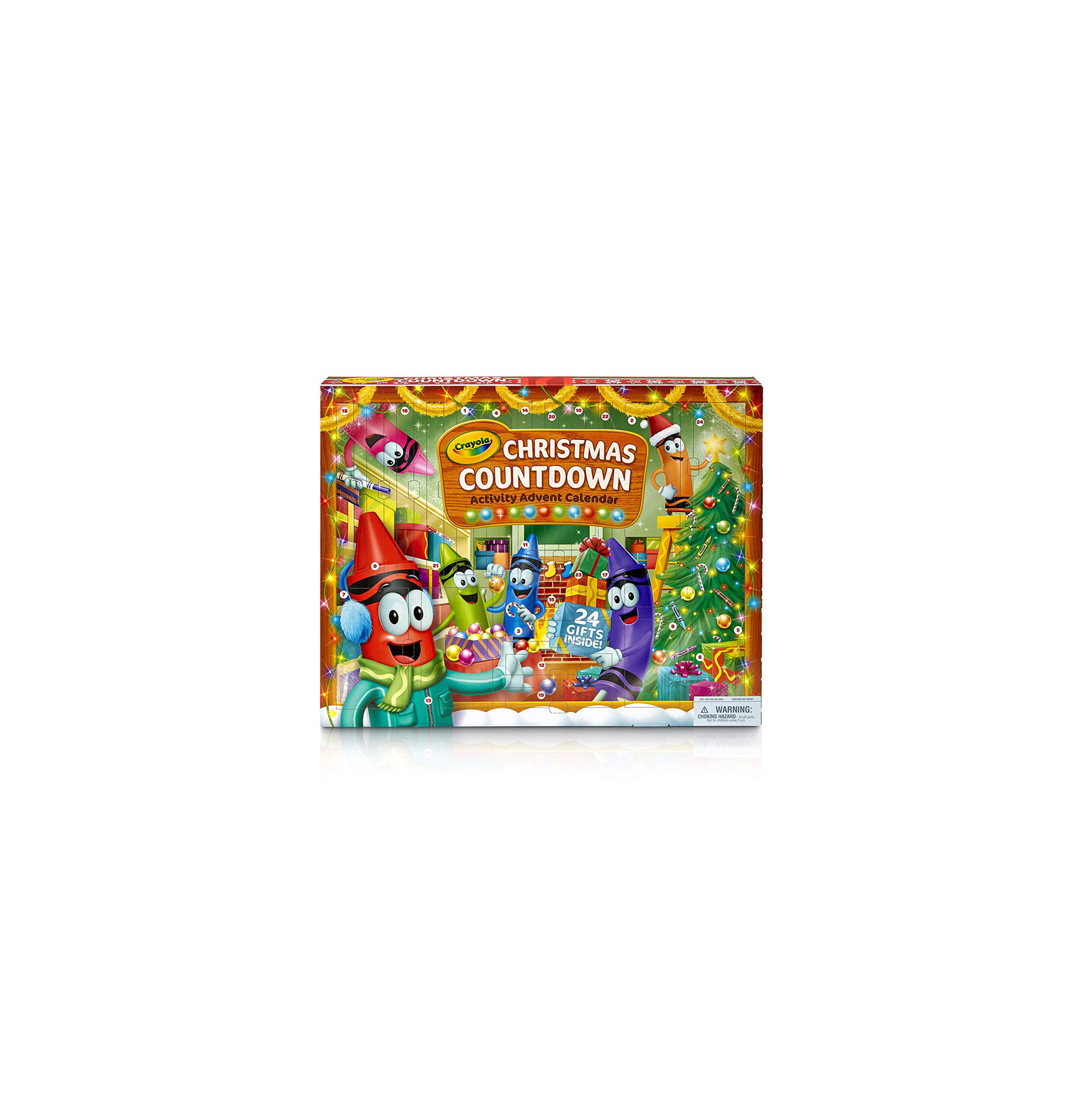 Kids Advent Calendar: Crayola Christmas Countdown Activity Advent Calendar