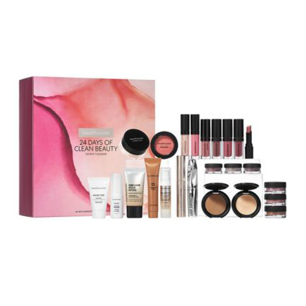 Best advent calendars 2019 - bareMinerals 24 Days of Clean Beauty Advent Calendar