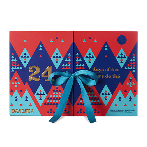Best advent calendars 2019 - DavidsTea 24 days of tea