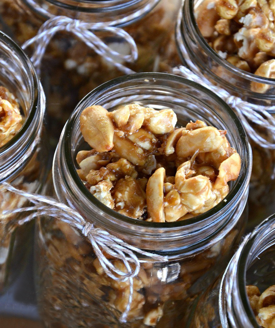 Homemade Cracker Jacks Jar