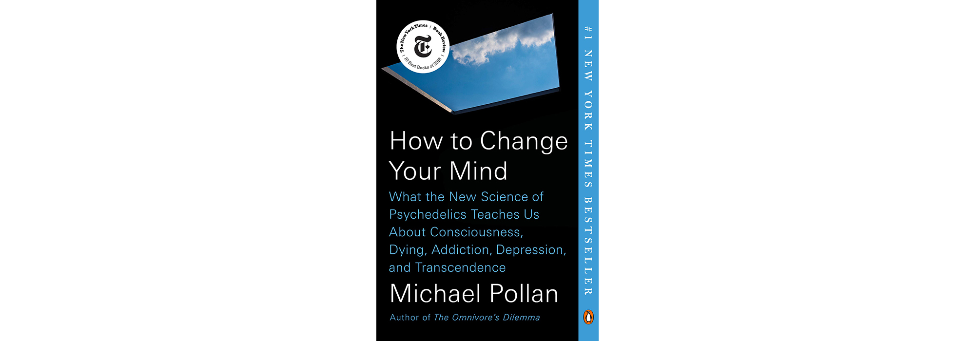 Cover of How to Change Your Mind, by Michael Pollan
