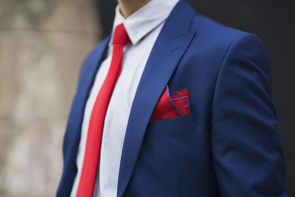 Here's How to Fold a Pocket Square
