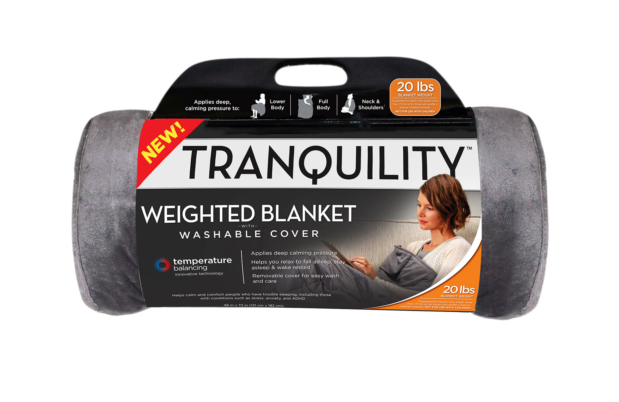 Tranquility Temperature Balancing Weighted Blanket