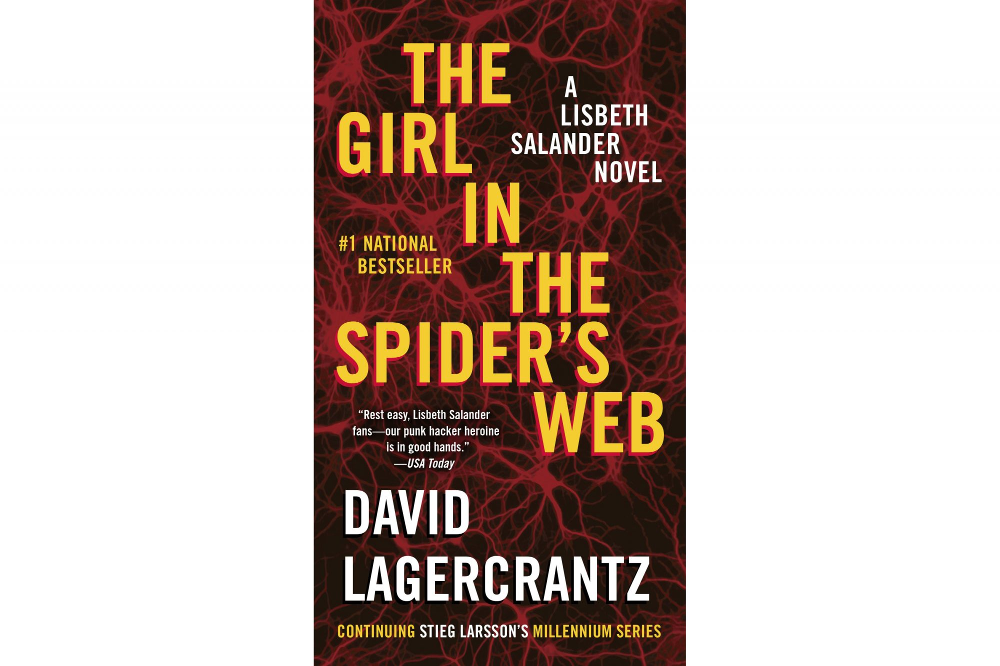 The Girl in the Spider's Web, by David Lagercrantz