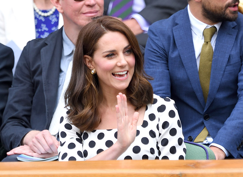 Brand New Haircut on Kate Middleton