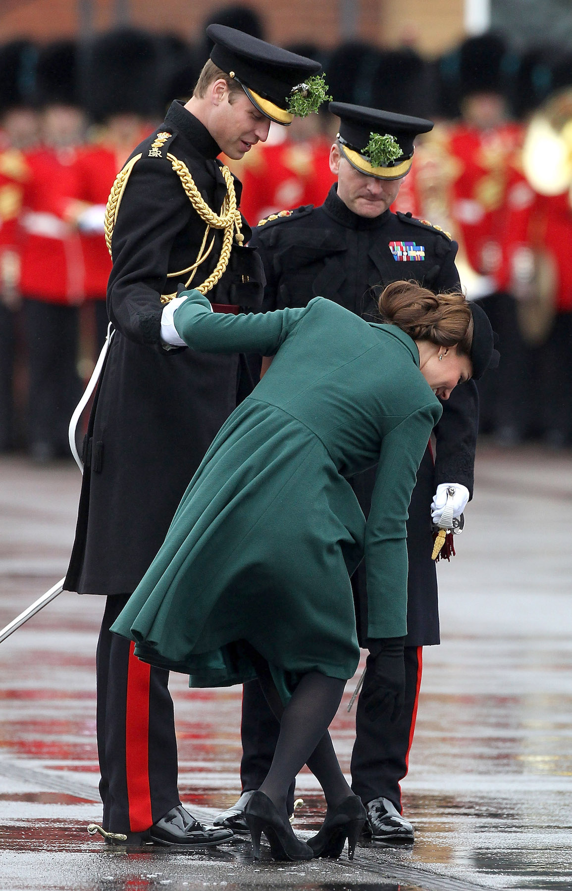 Kate Middleton at St. Patrick's Day Parade