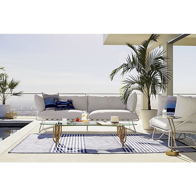 Fred Segal and CB2 outdoor living area