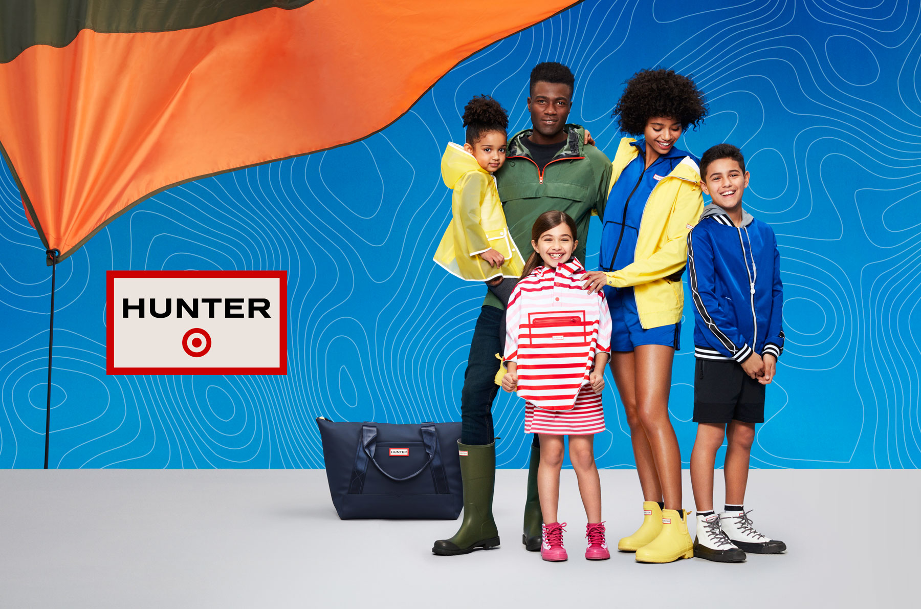 Target x Hunter boots collection