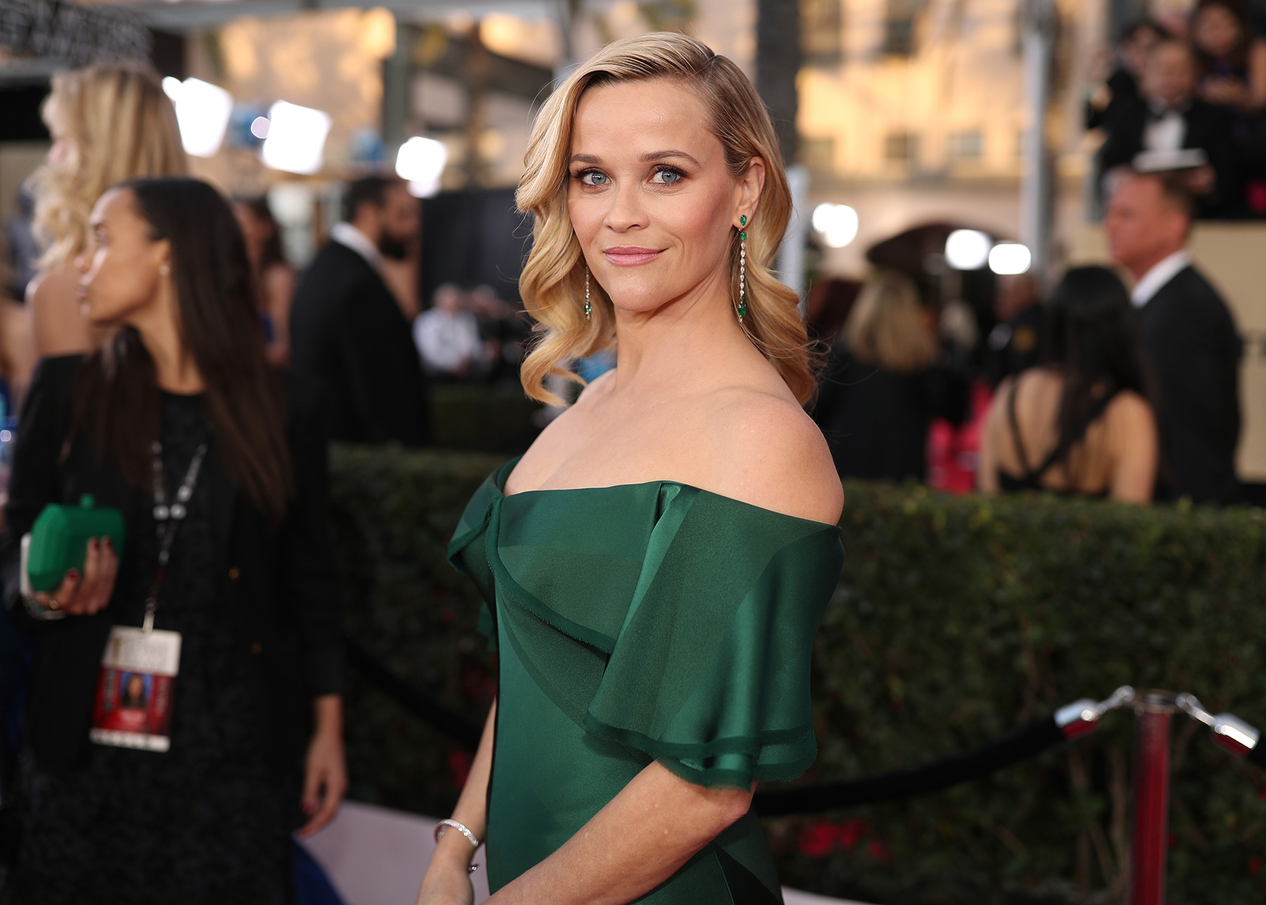 Reese Witherspoon attends the 24th Annual Screen Actors Guild Awards
