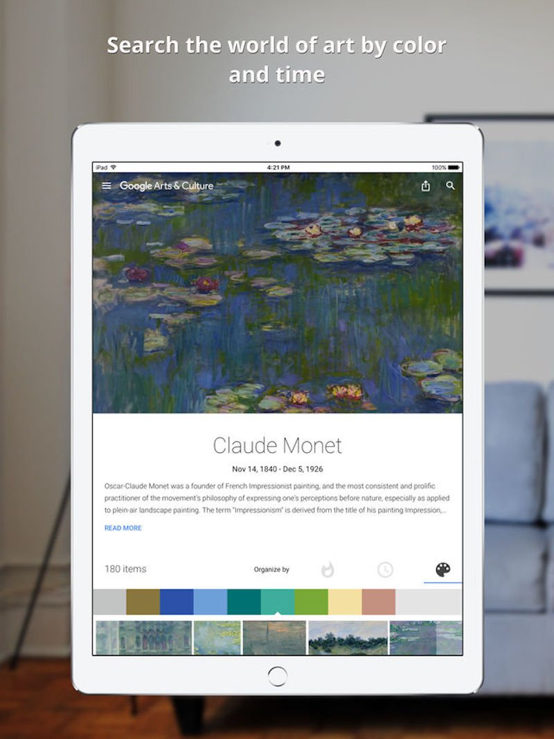 Google Art Palette App Feature