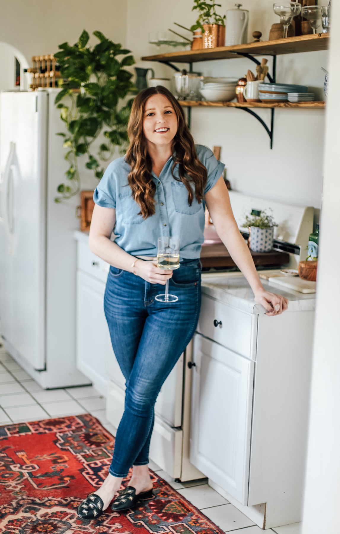 Rental Kitchen Makeover After with Elizabeth Van Lierde