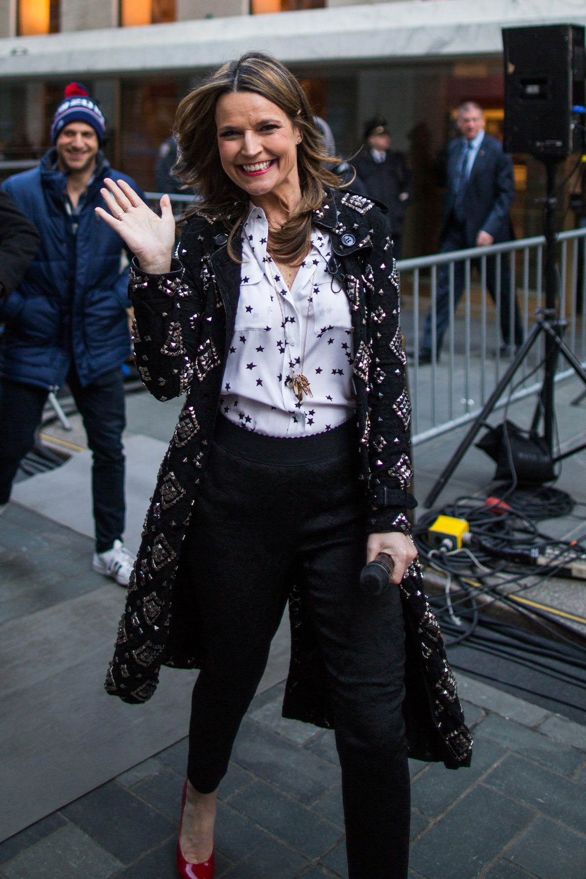 Savannah Guthrie at the today show