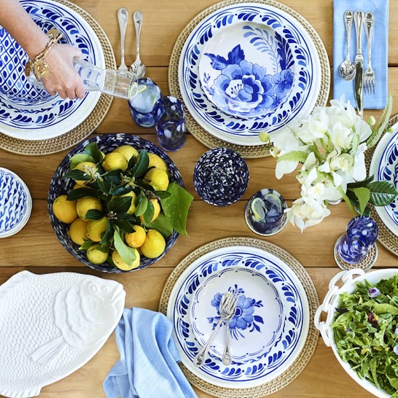 Aerin Lauder Williams Sonoma collection table top