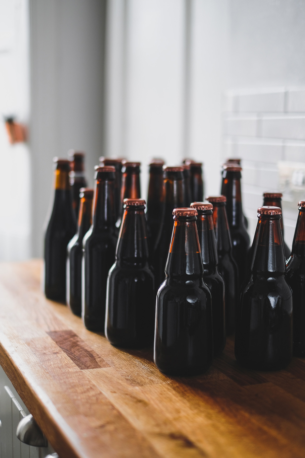 Why are beer bottles brown