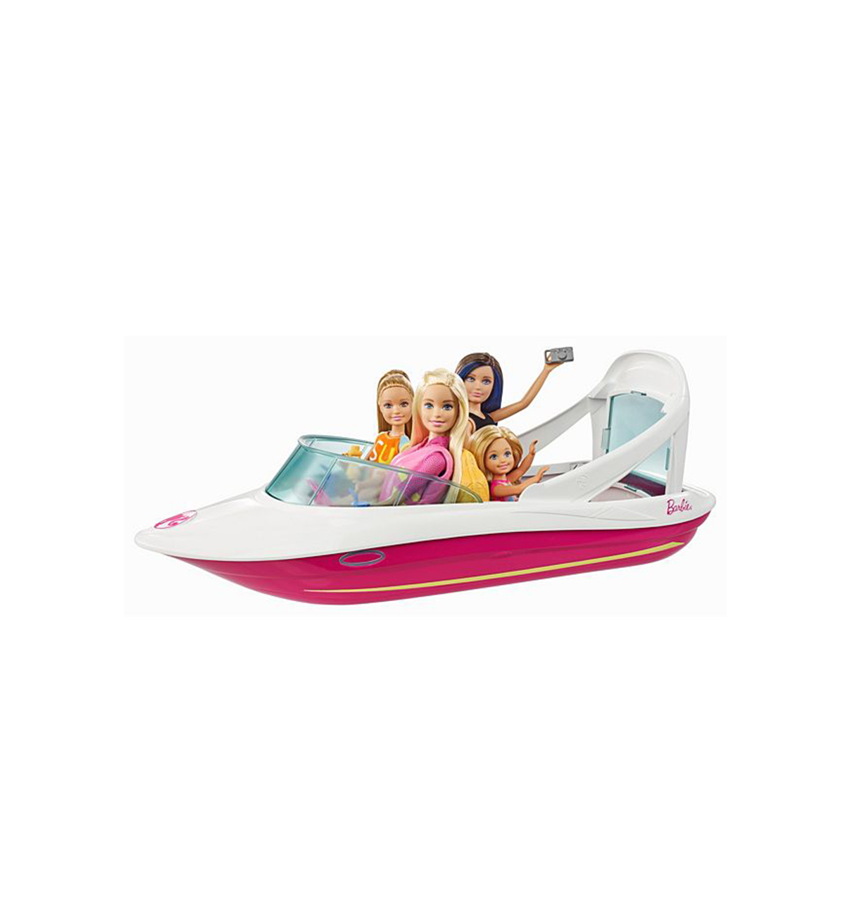 Barbie Boat with Sisters