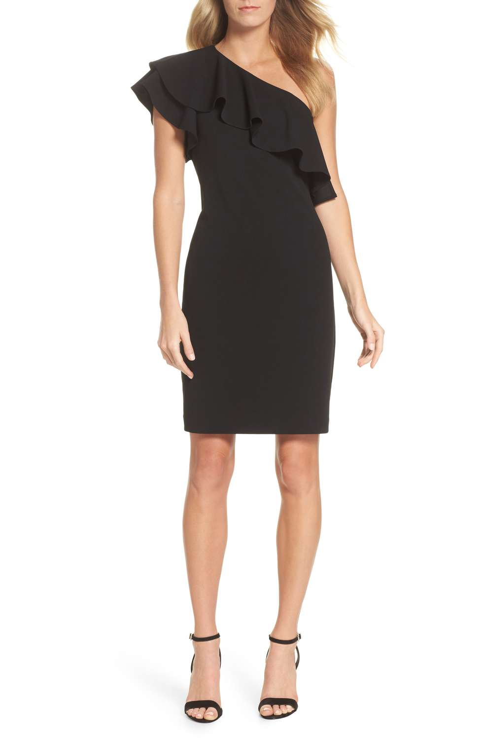 Nordstrom Ruffle Cocktail Dress