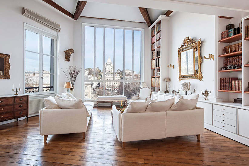 Loft With a View in Paris, France