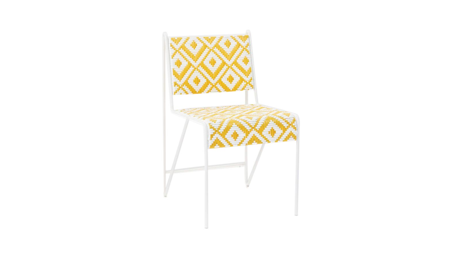 Two-Tone Peaks Dining Chair