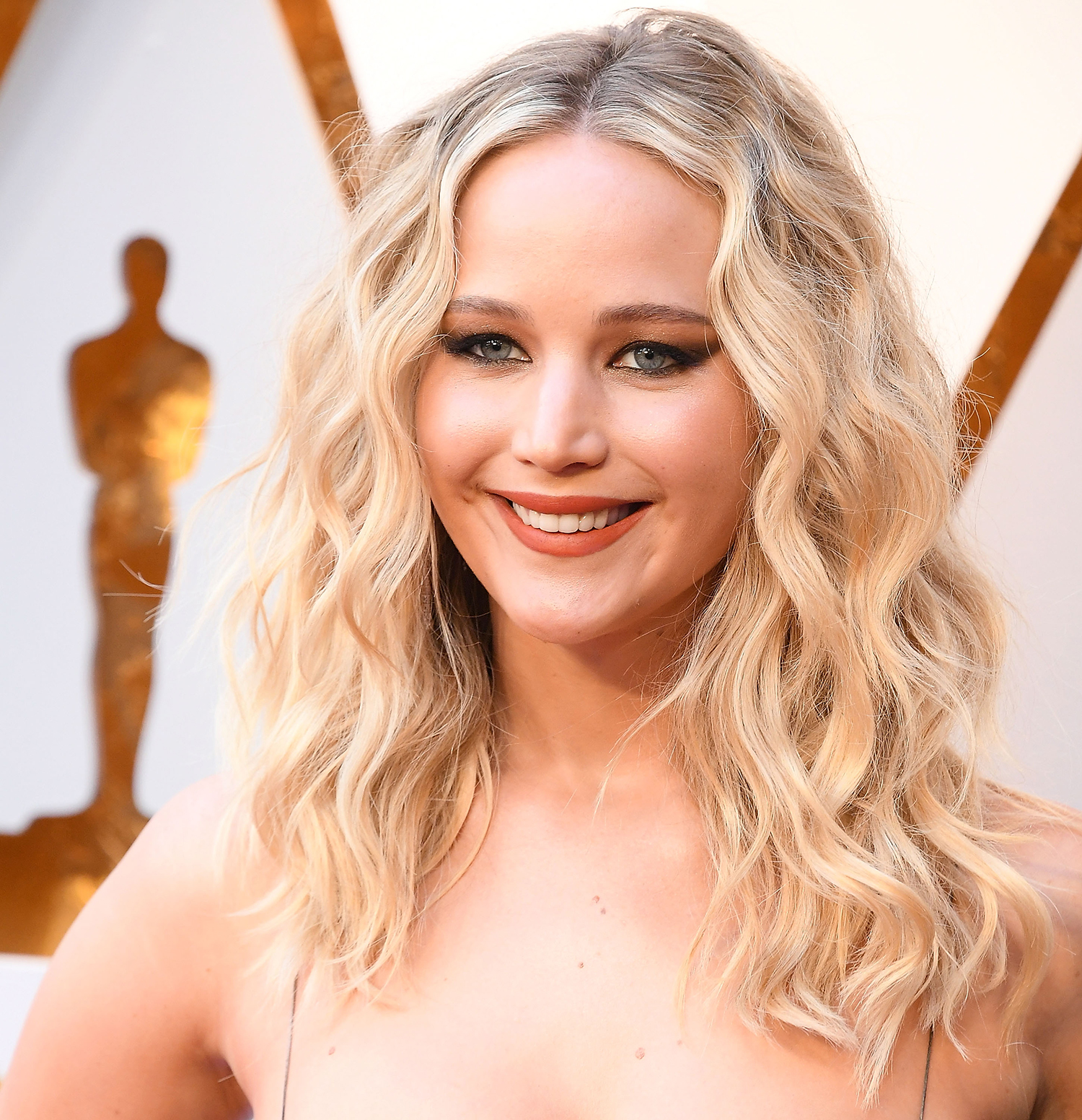 Jennifer Lawerence Beachy Waves