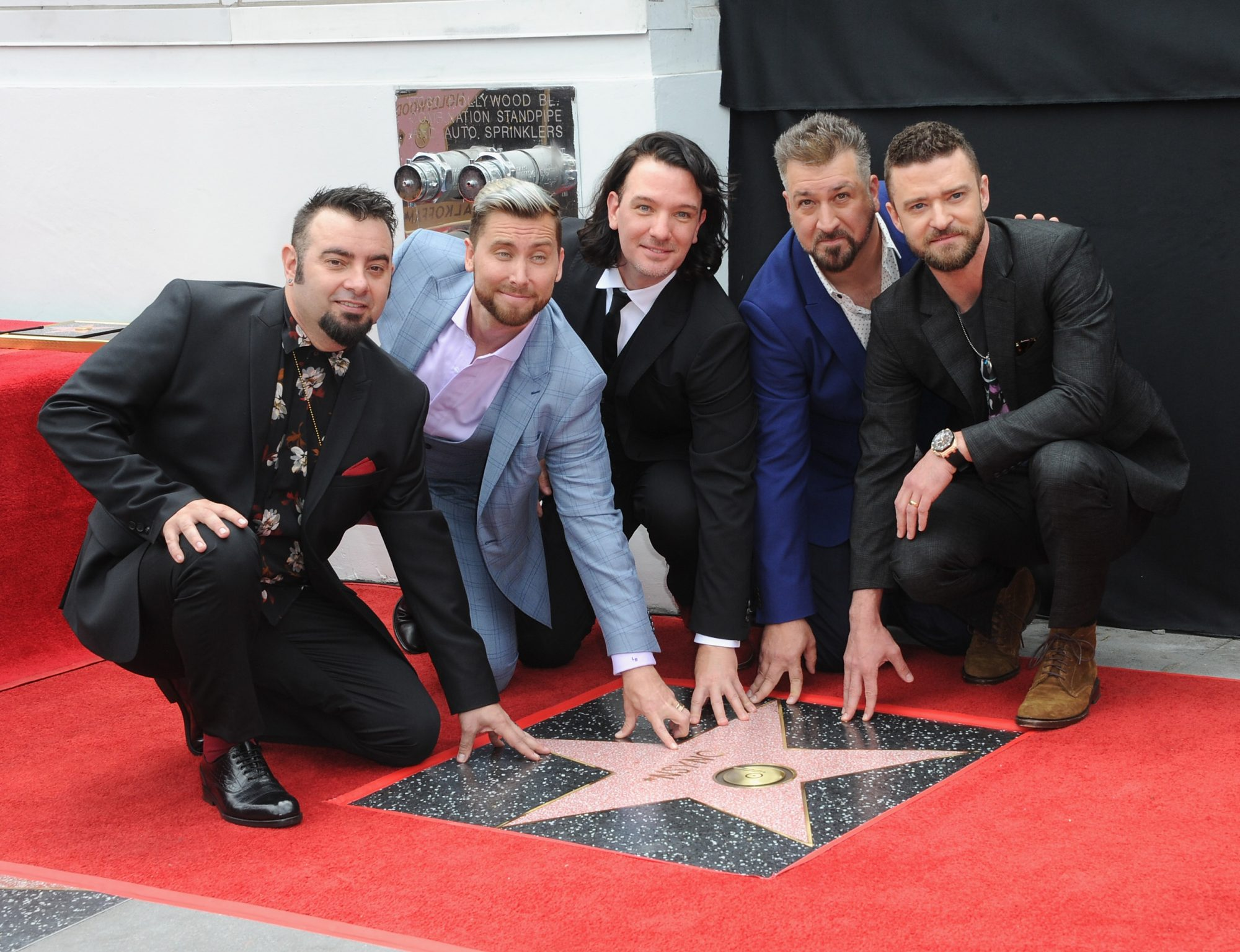 'NSYNC Walk of Fame Ceremony