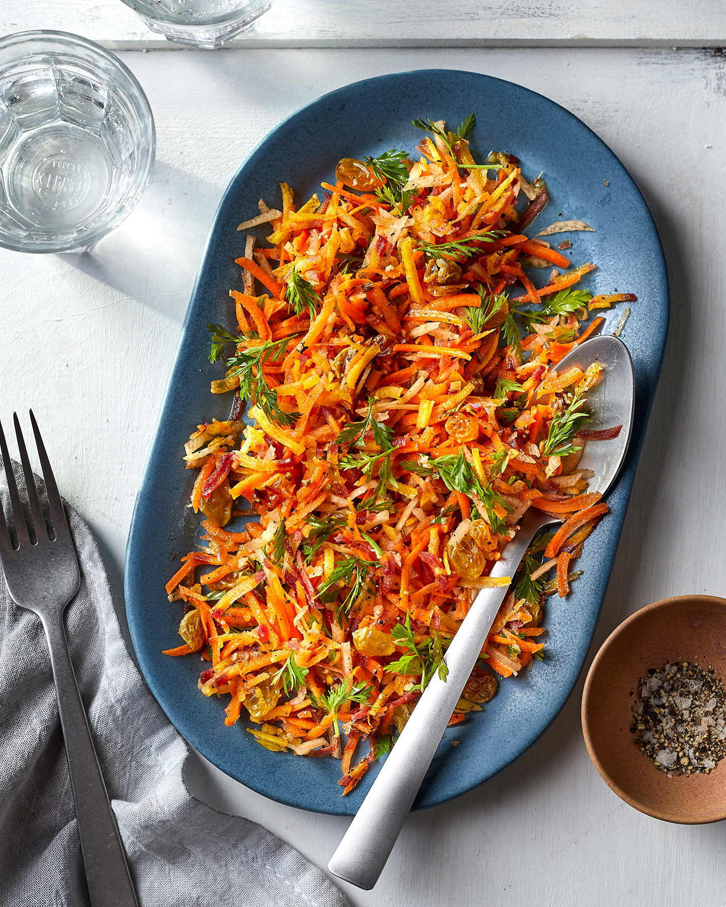 Healthy Superbowl Recipes: Spiced Carrot Salad